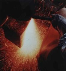 Abrasive Belt handles heavy grinding.