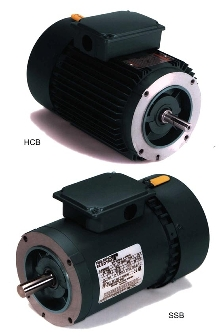 Brake Motors are short and compact.