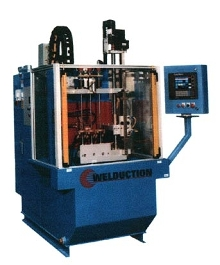 Induction Hardening System process several parts at a time.