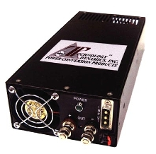 DC-DC Converters provide single output with >85% efficiency.
