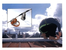 Cable Lifeline provides hands-free fall protection.