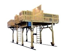 Personnel Platform for train maintenance.