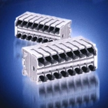 Terminal Blocks feature double solder tails.
