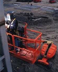 Power System incorporates welder into boom lifts.