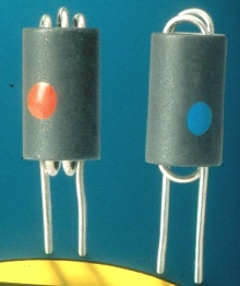 Ferrite Chokes offer vertical mount arrangement.