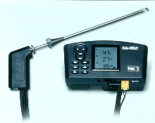 Combustion Analyzer suits various feuls.