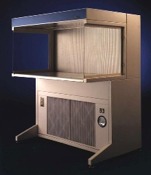 Workstations provide dust and particle-free work areas.