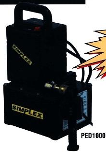 Hydraulic Pump provides portable power.