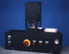 Punch automates filter-cutting process.