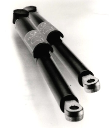 Gas Springs lock for safety.