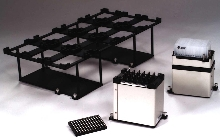 Labware Positioners add flexibility to liquid handling system.