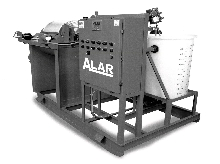 Rotary Vaccum Filter removes suspended solids from slurries.