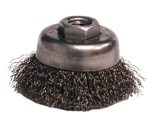 Grinder Brushes are suitable for confined areas.