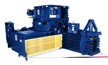Baler compacts up to 30 tons per hour.