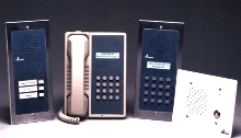 Intercom System provides hands-free or 2-way communication.