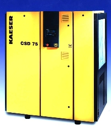 Compressors feature one-to-one, direct drive technology.