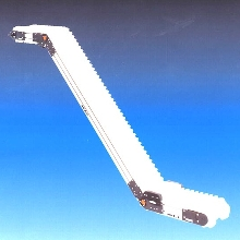 Conveyors offer 1 or 2 adjustable pivot points.
