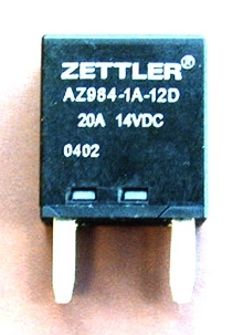 Miniature Power Relays suit automotive use.