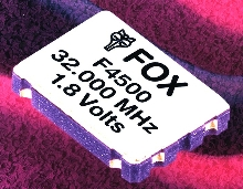 Crystal Oscillator operates as low as 1.6 V.