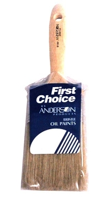 Paint Brushes are available in two bristle types.
