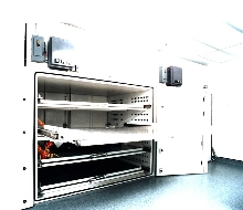 Curing Cabinet works in clean rooms.