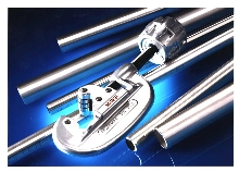Tubing Cutter cuts stainless steel.