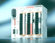 I/O and Network Adapter connects to fieldbus.