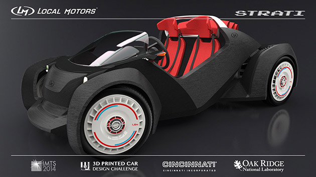 Local Motors printed car IMTS 2014