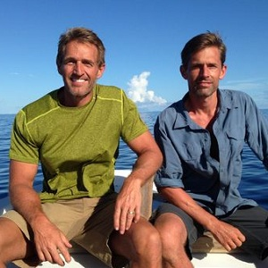 Senators Jeff Flake (left) and Martin Heimrich. Credit: Discovery Channel