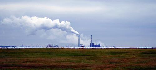 Coal power plant in Kentucky