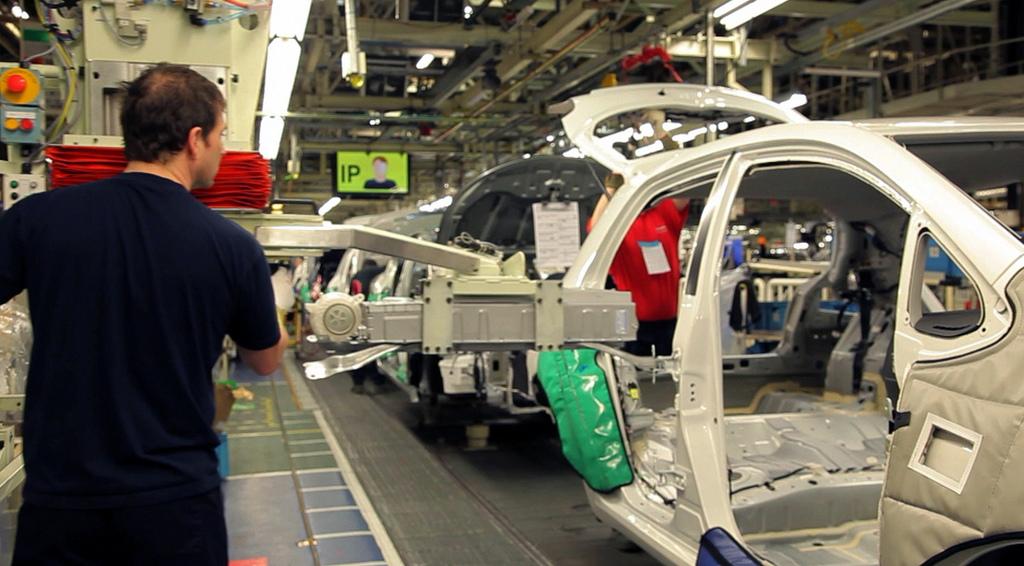 Toyota Corolla production line. Credit: Toyota UK.