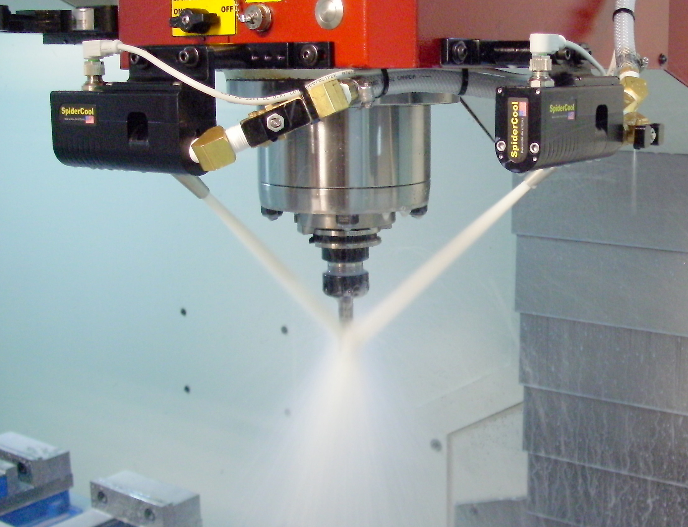 Achieving accurate coolant flow every time machining