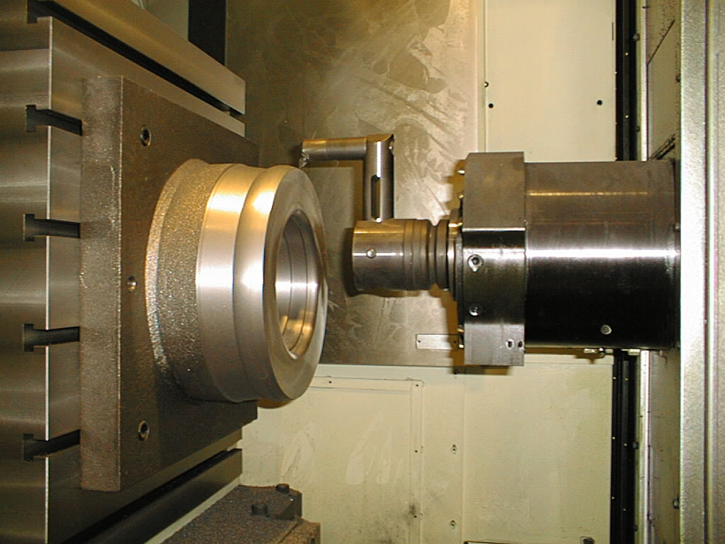 Okuma-Developed Capability Enables HMC to Perform Turning