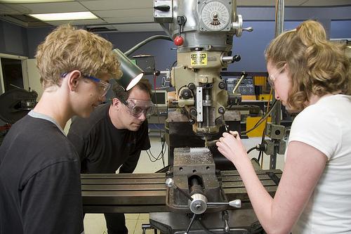 Students-Machining