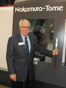Methods Machine Tools' president and CEO, Bryon Deysher, says the Metal Storm open house is a