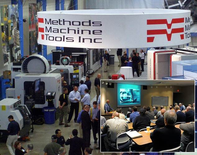 Before Methods Machine Tools and its equipment partners hit IMTS, they will collaborate on an open house at the distributor's Massachusetts headquarters.