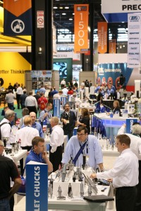 Advanced manufacturing was the buzzword amid the large opening day crowd at IMTS.