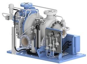 ClydeUnion Pumps' Turbine Water Lubricated turbine/pump set