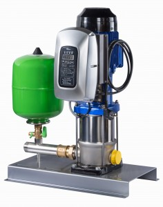 The Hya-Solo EV pressure-boosting system from KSB maintains constant pump pressure.