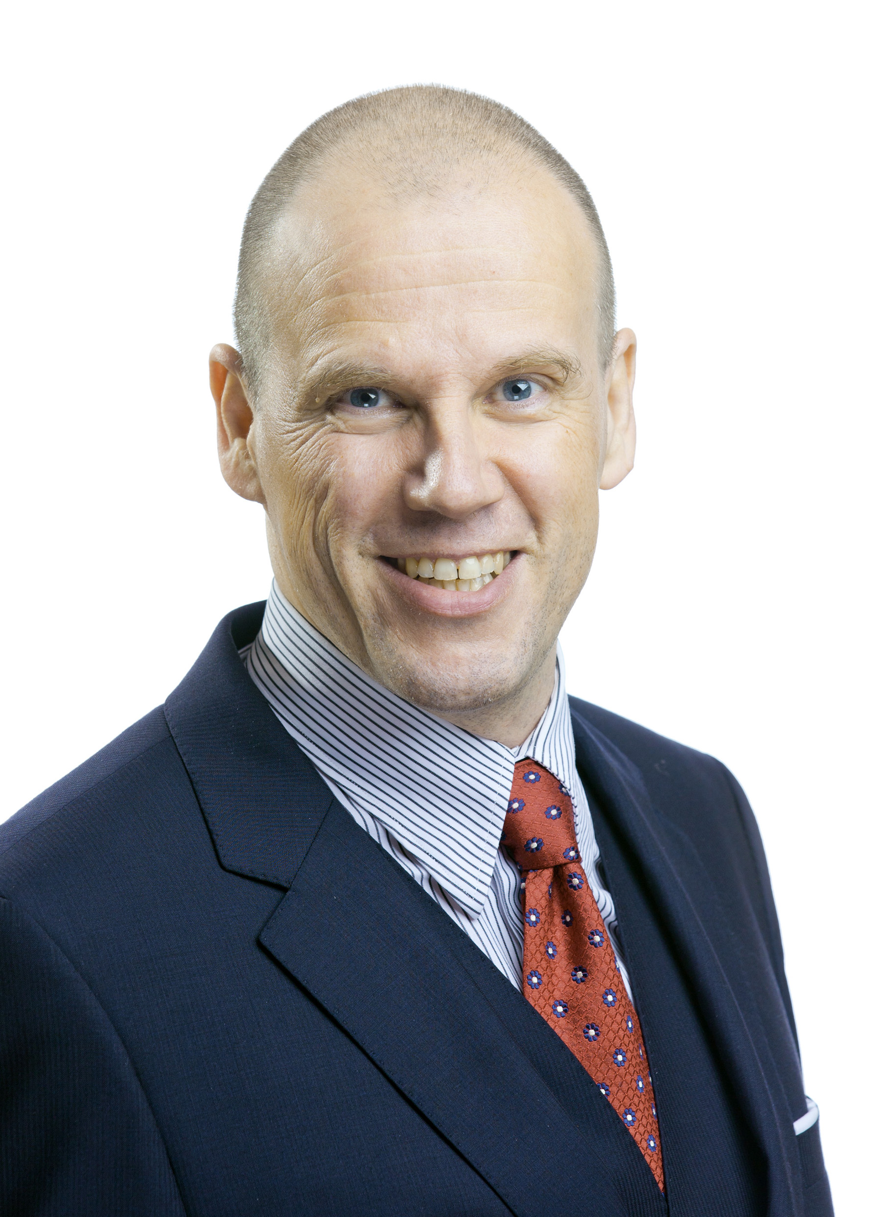 Perttu Louhiluoto will be the president of Metso's Flow Control business.